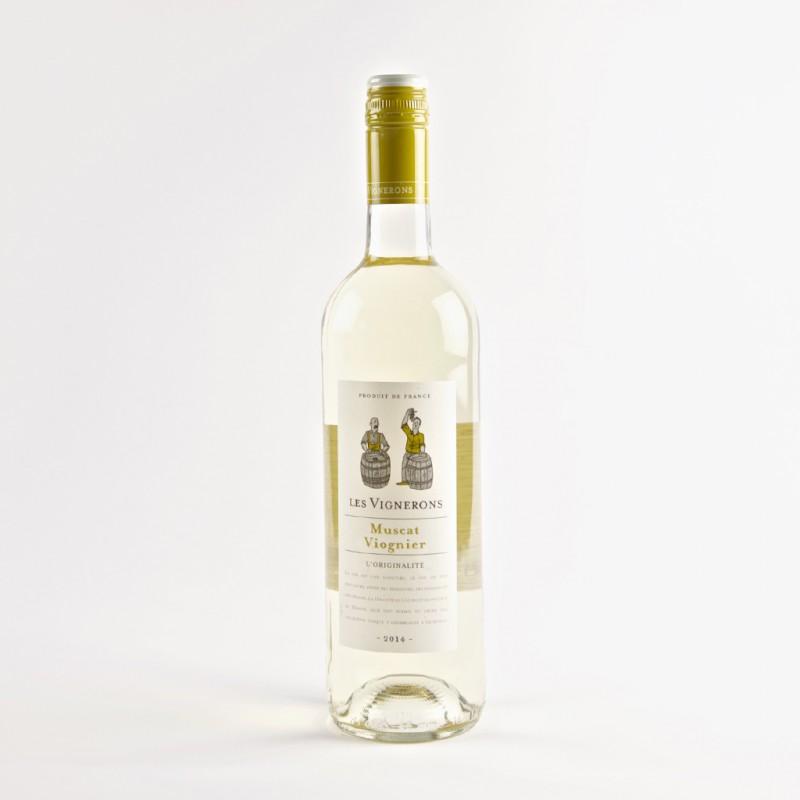 Les Vignerons Muscat Viognier VDF